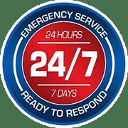 24/7 - emergency service