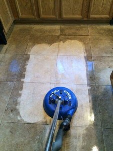 Heavy Duty Tile Cleaning